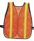 Port Authority SV02    Mesh Enhanced Visibility Ve Safety Orange