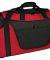 Port Authority BG1050    Medium Two-Tone Duffel Red/Black