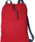 Port Authority B119    Canvas Cinch Pack Chili Red