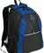 Port Authority BG1020    Contrast Honeycomb Backpa Twil Blue/Blk