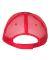 Valucap S102 Sandwich Trucker Cap Black/ Red