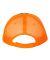Valucap S102 Sandwich Trucker Cap Charcoal/ Neon Orange