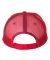 Valucap S102 Sandwich Trucker Cap White/ Red/ Royal