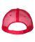 Valucap S102 Sandwich Trucker Cap Grey/ Red