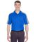 UltraClub 8447 Adult Cool & Dry Stain-Release Two- ROYAL/ SILVER