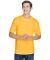UltraClub 8620 Men's Cool & Dry Basic Performance  GOLD