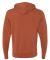 Independent Trading Co. PRM90HT Unisex Midweight F Burnt Orange Heather