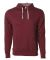 Independent Trading Co. PRM90HT Unisex Midweight F Burgundy Heather