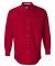 FeatherLite 3281 Long Sleeve Stain-Resistant Twill American Red