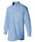 FeatherLite 3281 Long Sleeve Stain-Resistant Twill Glacier Blue