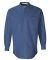 FeatherLite 3281 Long Sleeve Stain-Resistant Twill Pacific Blue