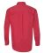 FeatherLite 3281 Long Sleeve Stain-Resistant Twill Heathered Red