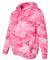 3969 Code V Camouflage Pullover Hooded Sweatshirt  Pink Woodland