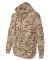 3969 Code V Camouflage Pullover Hooded Sweatshirt  Sand Digital