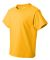 3931B Fruit of the Loom Youth 5.6 oz. Heavy Cotton Gold