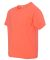 3931B Fruit of the Loom Youth 5.6 oz. Heavy Cotton Retro Heather Coral