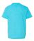 990B Anvil Combed Ring Spun Cotton Fashion Youth T HTHR CARIB BLUE