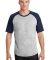 Sport Tek T201 Sport-Tek Short Sleeve Colorblock Raglan Jersey Catalog