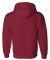 12500 Gildan 9.3 oz. Ultra Blend® 50/50 Hood CARDINAL RED