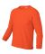 2400B  Gildan Youth 6.1 oz. Ultra Cotton® Long-Sl ORANGE