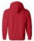 18600 Gildan 7.75 oz. Heavy Blend™ 50/50 Full-Zi RED