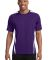 Sport Tek TST351 Sport-Tek Tall Colorblock PosiCha Purple/White