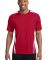 Sport Tek TST351 Sport-Tek Tall Colorblock PosiCha Tr Red/White