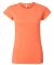 64000L Gildan Ladies 4.5 oz. SoftStyle™ Ringspun HEATHER ORANGE