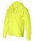 G126 Gildan 9.3 oz. Ultra Blend® 50/50 Full-Zip H SAFETY GREEN