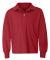 Jerzees 437YLR SpotShield Youth Long Sleeve Sport  True Red