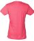 0240 Tultex Ladies Ultra Blend Tee  Heather Fuchsia