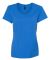 S04V Nano-T Women's V-Neck T-Shirt Blue Bell Breeze