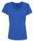 S04V Nano-T Women's V-Neck T-Shirt Heather Blue