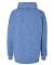 197 8673 Women's Melange Fleece Cowlneck Pullover Royal