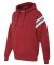 197 8847 Vintage Athletic Hooded Sweatshirt Simply Red