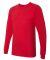 2007W Fine Jersey Long Sleeve T-Shirt RED