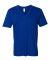 2456W Fine Jersey V-Neck T-Shirt LAPIS