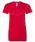 BB301W Ladies' Poly-Cotton Short-Sleeve Crewneck RED