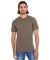 2001ORW Adult Organic Fine Jersey Classic T-Shirt WALNUT