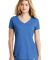 1001 LNEA101 New Era  Ladies Heritage Blend V-Neck Royal Heather