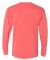 Next Level 7401 Inspired Dye Long Sleeve Crew GUAVA