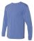 Next Level 7401 Inspired Dye Long Sleeve Crew PERI BLUE