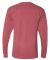 Next Level 7401 Inspired Dye Long Sleeve Crew SMOKED PAPRIKA