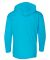 49 987B Youth Long Sleeve Hooded T-Shirt Caribbean Blue