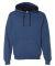 50 SF77R Sofspun® Microstripe Hooded Pullover Swe Denim Stripe