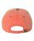 Mega Cap 7601 Pigment Dyed Cotton Twill Cap Orange/ Navy