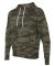 Independent Trading Co. AFX90UN Unisex Hooded Pull Forest Camo