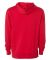 Independent Trading Co. AFX90UN Unisex Hooded Pull Red