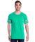 Jerzees 602MR Triblend Ringer Varsity T-Shirt Mint Heather/ Oxford