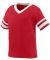 Augusta Sportswear 362 Toddler Sleeve Stripe Jerse RED/ WHITE
